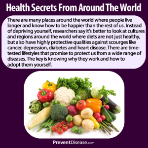 Health Secrets from Around the World