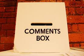 Comments Box