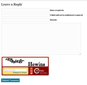 Kotak Komentar BlogDetik